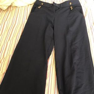 Blue Sailor Styled Pants